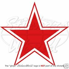 RUSSIE Force Aérienne USSR Type 3 Red Star 100mm Cocarde Sticker Autocollant