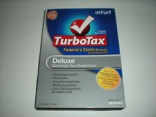 Turbotax 2012 Deluxe. Federal and State + Federal E-file. New in sealed box.