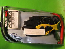 MSR MX YOUTH AXXIS GLOVES YELLOW    SIZE YOUTH -LARGE  # 34-6304