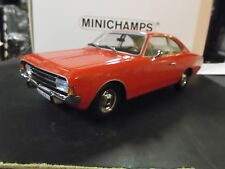 OPEL Rekord C Coupe 1966 red rot 107047020 RAR Resin Minichamps 1:18