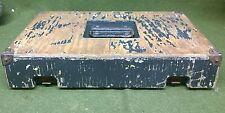 GERMAN ARMY WOODEN BOX (EMPTY)