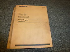 Caterpillar Cat 3406B Engine Industrial Parts Catalog Manual S/N 6TB9166-up