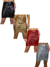 Short/Mini Polyester No Pattern Regular Skirts for Women
