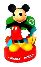 """Disney Mickey Mouse Coin Bank / Money Box Vintage 10"""" Peachtree Playthings"""