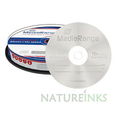 50 MediaRange CD-RW 1x - 12x rewritable blank discs CD RW High Ultra burn MR235
