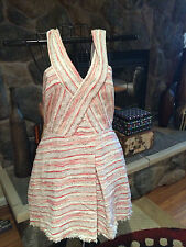 WALTER BAKER NWT Women's Red Berry Dress size L retails for $228