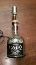 Hand Made Bottle Lamp Cabo Wabo Tequila Blanco