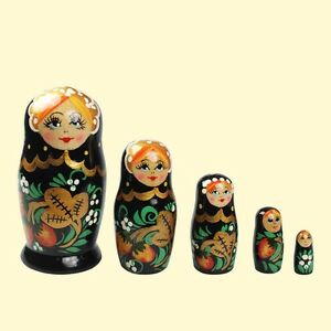 Matrjoschka Hochloma Matroschka / Матрёшка, Хохлома / Matryoshka Khokhloma
