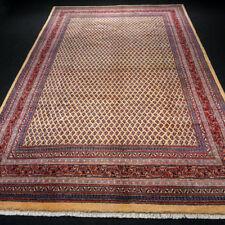 Orient Teppich Mir 338 x 210 cm Perserteppich Handgeknüpft Gelbgold Beige Carpet