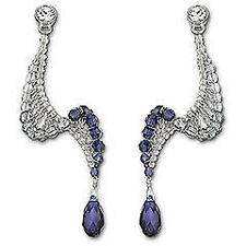 Kenneth Jay Lane Crystal Chandelier Costume Earrings   eBay