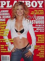 ALISON EASTWOOD February 2003 Playboy EMMITT SMITH  BERNIE MAC  CHARIS BOYLE