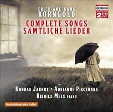 Korngold: Complete Songs, New Music