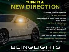 Add-On Amber LED Side View Mirror Bright Turnsignal Lights for Nissan 370Z