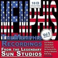 The Memphis Recordings from the Legendary Sun Studios vol. 3,10 CD NEW