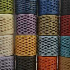 200 metros Rollo De Papel Craft Twine Rope String Cuerda Rafia artesanía Hazlo tú mismo álbum de recortes