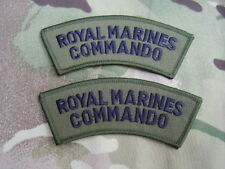Royal Marines Commando/SBS - Military Combat Jacket/Shirt Titles Patch/Badges GB