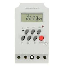 AC 220V 25A Din Rail Digital Programmable Electronic Timer Switch