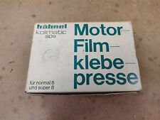 Hahnel Kollmatic SD8 Normal 8 and Super 8 Motor Film Splicer