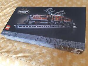 LEGO TRAIN 10277 CROCODILE LOCOMOTIVE CREATOR EXPERT NEW BOX SWISS TRACK RAILWAY