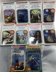 Choose Your Own Adventure Lot Of 10 Chooseco