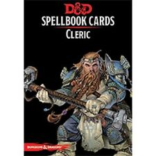 Dungeons & Dragons D&D 5E 5th Edition Spellbook Cards: Cleric (New)