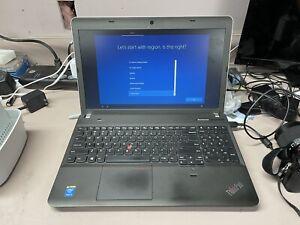 "LENOVO THINKPAD E540 - 15.6"" Core i5-4200M @ 2.5GHz 256GB SSD 6GB RAM WIN10 PRO"