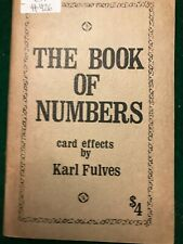 The Book of Numbers - Karl Fulves