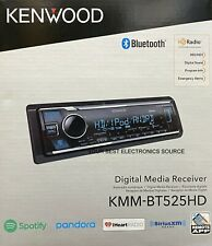 NEW KENWOOD KMM-BT525HD Digital Media Car Stereo Receiver, Single DIN, Bluetooth
