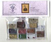 Cross Stitch ~ Mirabilia Embellishment Pack for Miss Christmas Eve #MD148E
