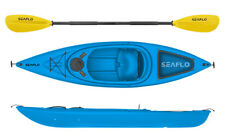 Seaflo Kajak inkl. Paddel, Angelboot, Kanu, Kayak, 1004 blau *NEU*