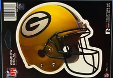 "Green Bay Packers NFL Sticker Decal Full Color 6""x 5 1/2"" - FREE SHIP"