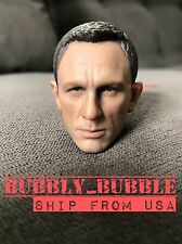 1/6 Daniel Craig Head Sculpt For James Bond 007 Sky Spectre SHIP FROM USA