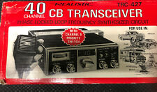 N.O.S. REALISTIC 40 CHANNEL CB TRANSCEIVER