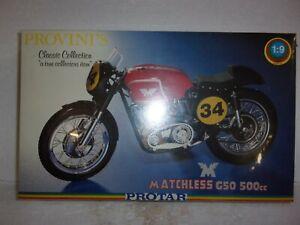 Protar Matchless G50 500cc Provini's 1:9 Scale Model Kit, Factory Sealed NIB
