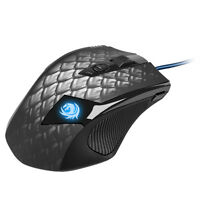 Sharkoon * Drakonia Black * Gaming Mouse * Drachenmuster Design * 8200 DPI *