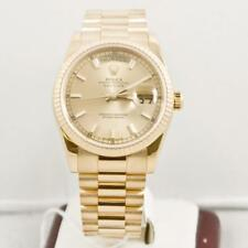 Rolex DayDate 118238 Yellow Gold 36mm President Watch Box & Papers 2008 Model