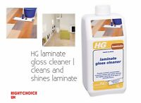 HG laminate Floor gloss cleaner cleans and shines laminate