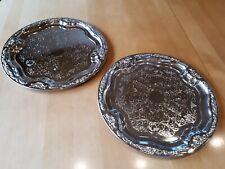 Servierplatten dekorativ aus Alu für