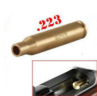 Tactical Bullet 223 REM 5.56 Caliber Cartridge Red Dot Sight Laser Bore Sighter