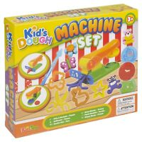 21 Pc Machine Play Dough Kids Set Activity Craft Cutters Tubs Shapers Gift Xmas