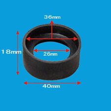 microscopio oculare occhio tazze 34-37mm raggruppabili occhio guardie di gomma
