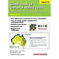 Giant Book of General Ability Tests: Years 5-8 (Selective Schools Tests)