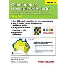 Giant Book of General Ability Tests: Years 5-8 by Coroneos Publications (Paperback, 2008)