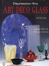 Depression Era Art Deco Glass - Types Makers / Illustrated Book + Values