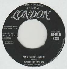 DODIE STEVENS 45 PINK SHOE LACES B/W COMING OF AGE VG+ LONDON 45-HLD-8834