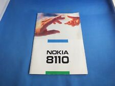 Original Nokia 8110 8110i Bedienungsanleitung Anleitung Book Deutsh Francais TOP