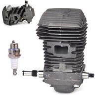 Engine Motor Cylinder 42.5mm Crankshaft Spark Plug Fit for Stihl 025 MS230 MS250