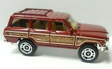 Matchbox Jeep Wagoner Red with Woodgrain 1:64 Scale Loose New