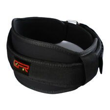 US Waist Support Belt Heavy Weight Lifting Lumbar Work Lower Back Brace Strap