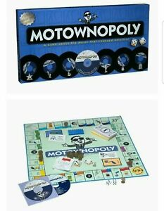 LIMITED EDITION 'MOTOWNOPOLY' BOARD GAME! VERY RARE! New Unplayed Motown Game